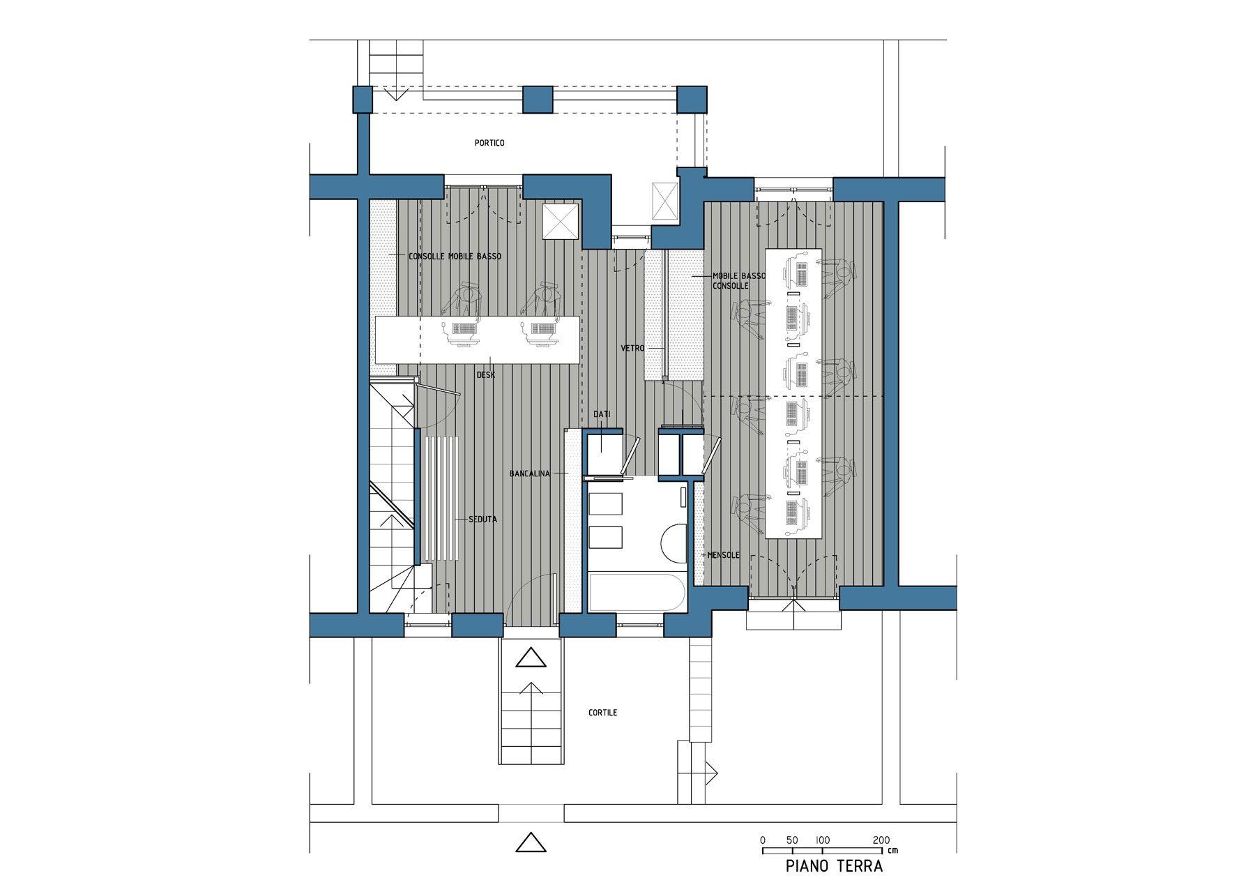 uffici_pardgroup_architetto_morgantini_pianta