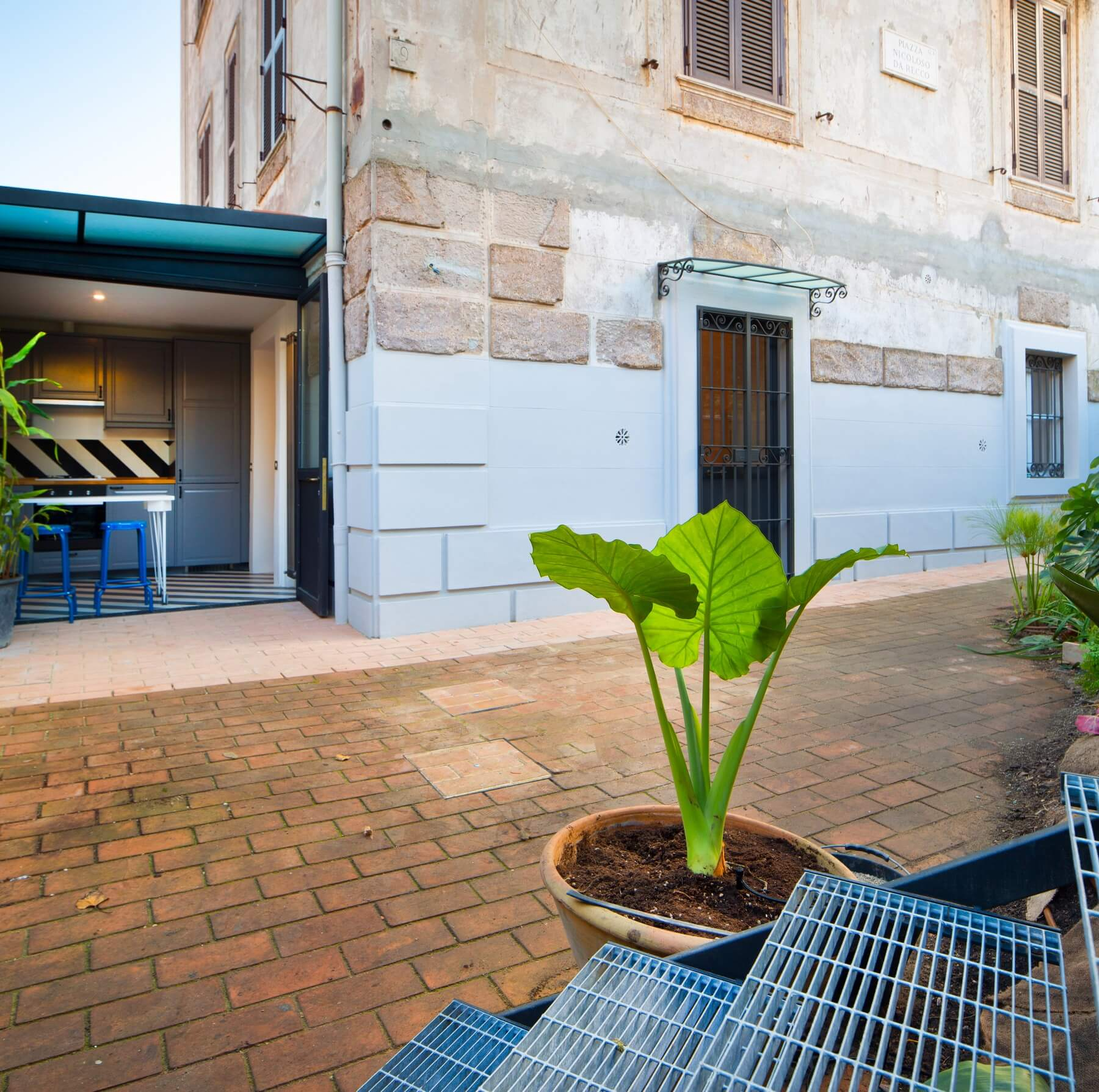 Appartamento san saba roma architetto morgantini 1 for Architetto giardini roma