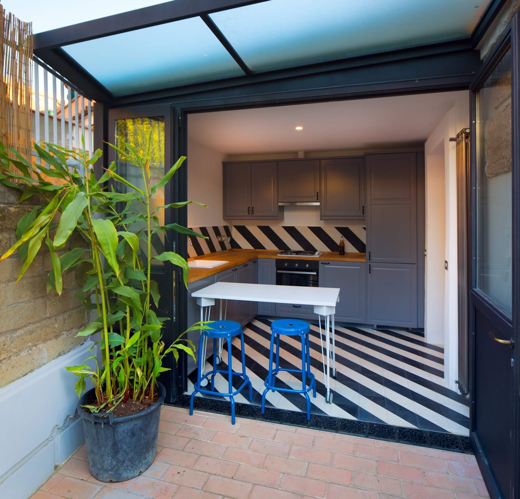 Appartamento san saba roma architetto morgantini 3 for Architetto giardini roma